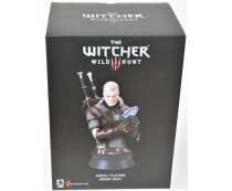 Dark Horse Deluxe The Witcher Wild Hunt Geralt Playing Gwent Bust