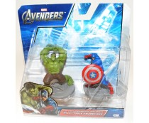 Avengers Captain America & The Hulk Figures