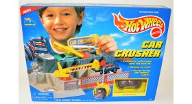 HW Car Crusher Playset