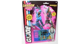 G.I. Joe Shadow Ninjas Bushido Snow Ninja Figure