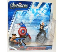 Avengers Captain America & Hawkeye Figure Set