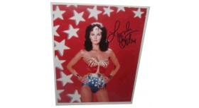 Linda Carter Wonder Woman Signed Photo
