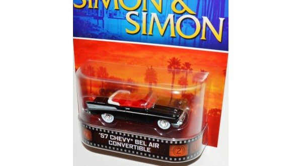 Hot Wheels Simon Simon 57 Chevy Bel Air Universal Classic Toys