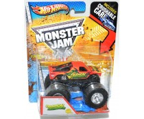 HW Monster Jam Tropical Thunder Truck