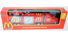RC McDonald's Monopoly Transporter with Stock Car