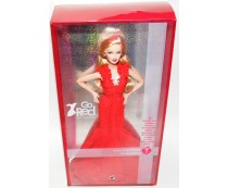 American Heart Association Go Red For Women Barbie Doll
