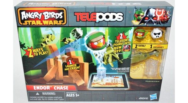Angry Birds Star Wars Telepods Endor Chase - Universal ...  Angry Birds Sta...