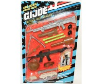G.I. Joe High Caliber Weapons Arsenal