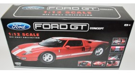 1/12 scale Black Ford GT Concept