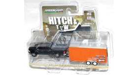 Greenlight Hitch & Tow 2014 Ram 1500 and Enclosed Car Hauler