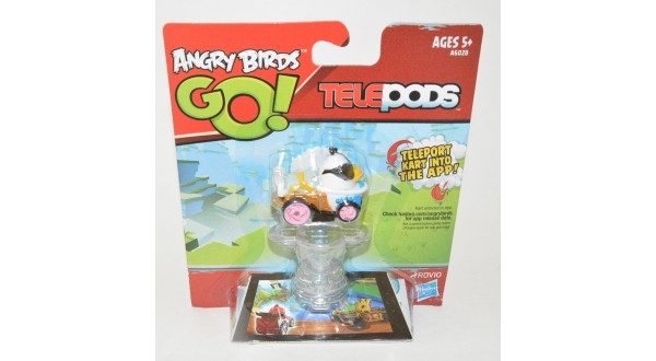 Angry Birds Go Toys : Angry birds go telepods white bird universal classic toys