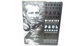 Winning The Racing Life of Paul Newman Book