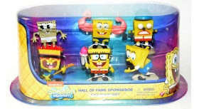Hall of Fame Spongebob Figurine Set
