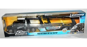 Jada Fast & Furious 7 Peterbilt Model 387 Car Carrier