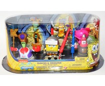 Dunces & Dragons Spongebob Squarepants Figurine Set