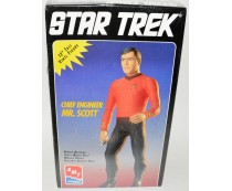Chief Engineer Mr. Scott Figure Kit