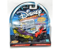 Disney Wild Racers Black Heart GT & Rippin' Reptile