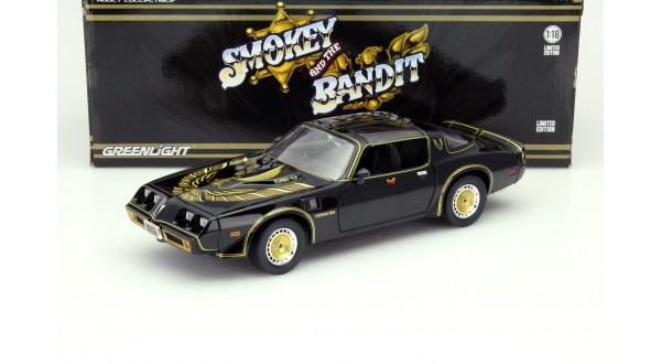 Image result for greenlight smokey and the bandit 1/18