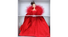 Evening Dress Red Gown Ferrari Barbie Doll