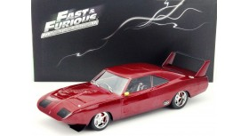 Greenlight Artisan Fast & Furious Dom's Custom 1969 Dodge Charger Daytona