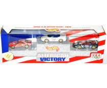 Hot Wheels American Victory USA Olympic Camaro Set