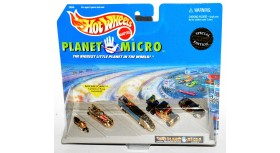 Hot Wheels Planet Micro Gold Set