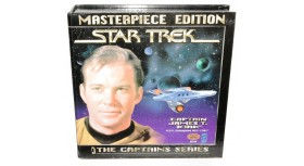 Star Trek Masterpiece Edition Captain James T. Kirk Set