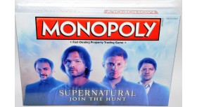 Supernatural Join The Hunt Monopoly Game