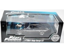 Jada Fast & Furious Chrome Dom's Dodge Charger R/T