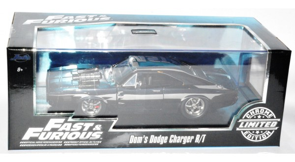 Jada Toys 2006 Dodge Magnum Rt 124 Scale: Jada Fast & Furious Chrome Limited Edition Dom's Dodge