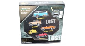 Greenlight Hollywood Lost Four-Car Collector's Set