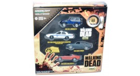 Greenlight Hollywood The Walking Dead Four-Car Collector's Set