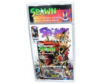 Hot Wheels Spawn Mobile Comic Book